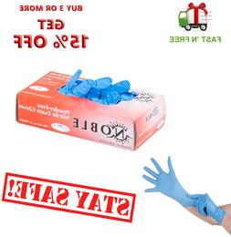 Gloves 100pcs Nitrile Exam Gloves  Medium Size