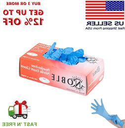 Gloves 100pcs Nitrile Exam Gloves  Medium Size