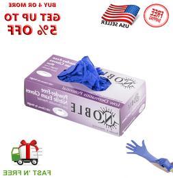 Gloves 100pcs Nitrile Black  Extra Large Size