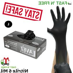 Gloves 100 pcs Latex  Large Size 4.5 Mil Thick