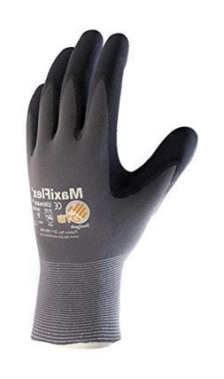 3 Pack 34-874 XS MaxiFlex Ultimate Nitrile Grip Work Gloves