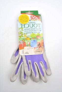 ATLAS Gloves Nitrile Touch Gardening Gloves