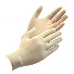 Green Direct Latex Gloves Powder Free / Disposable Food Prep