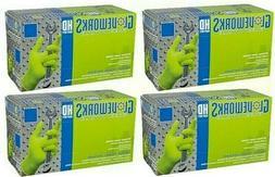 AMMEX Gloveworks HD Green Nitrile Gloves, Powder Free, 8 mil