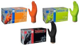 Gloveworks HD Industrial Nitrile Gloves Heavy Duties - Ammex