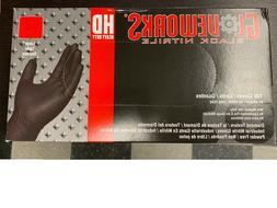 GLOVEWORKS HD Heavy Duty Nitrile Gloves Ammex GWBN48100