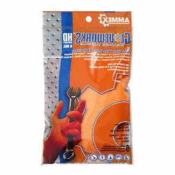 GLOVEWORKS Orange Nitrile Latex Free Disposable Gloves  - Un