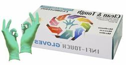 """""""RESIDUE FREE"""" Green Nitrile Gloves, Infi-Touch Clean & Toug"""