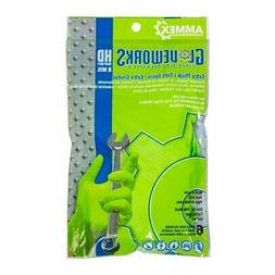 AMMEX - GWHD6PKGRN-S - Heavy Duty Nitrile Gloves - Glovework