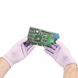 Halyard Health 52819 KC100 Lavender Nitrile Exam Glove #44;