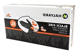 Halyard Health Black Fire Nitrile Exam Glove X-Large - 150 P