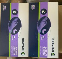 Halyard Health Purple Nitrile Glove, small size  KIMBERLY CL