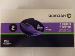 Halyard Purple Nitrile Glove, Small -100/BX-3 bxs55081