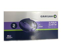 haylard health purple nitrile exam gloves small