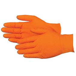 UltraSource Heavy Duty Nitrile Gloves, Tiger Grip, 7 mil Thi