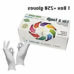 Infi-Touch - Food Safe - Lite Duty Nitrile 1000 gloves  x-sm