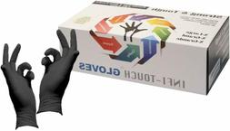 Infi-Touch Heavy Duty Nitrile Gloves, Strong  Tough, High Ch