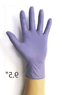 """Infi-Touch, Nitrile Gloves, 9.5"""" Length, Powder Free, Hypoal"""
