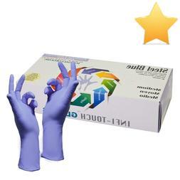 "Infi-Touch, Nitrile Gloves, Powder Free, Hypoallergenic, 12"""