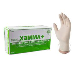 AMMEX Ivory Hand Specific Latex Exam Powder Free Disposable