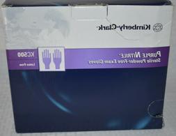 Kimberly Clark KC500 Purple Nitrile Exam Gloves Large 47 Cou
