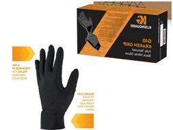 Kimberly Clark - Black Nitrile Gloves, PF,  Box/90, 3XL 3xEx