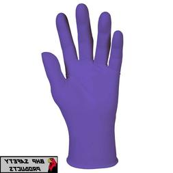 PURPLE NITRILE GLOVES KIMBERLY CLARK HALYARD KC500 EXAM POWD