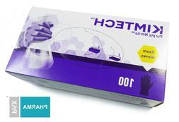 Kimberly Clark KIMTECH Purple Nitrile Exam Gloves / Box of 1