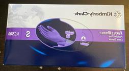 Kimberly Clark Small S Purple Nitrile PF KC500 Exam Gloves S