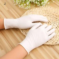 Kitchen Disposable Household Gloves Nitrile Powder Stretch R