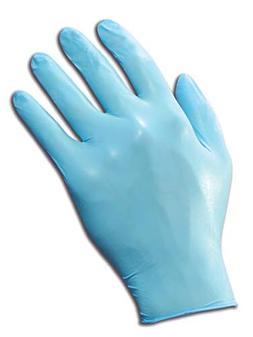 Kimberly-Clark KleenGuard G10 Blue Nitrile Glove, Large, Pac