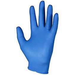 Kleenguard G10 Arctic Blue Nitrile Gloves , Ambidextrous, Po