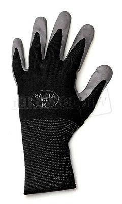1 Pair Black Atlas Showa 370 Nitrile Gloves MEDIUM Garden Wo