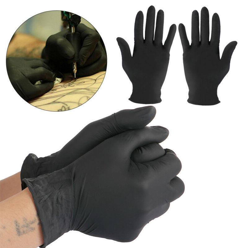 1 Pair Medical Gloves Food Rubber Disposable