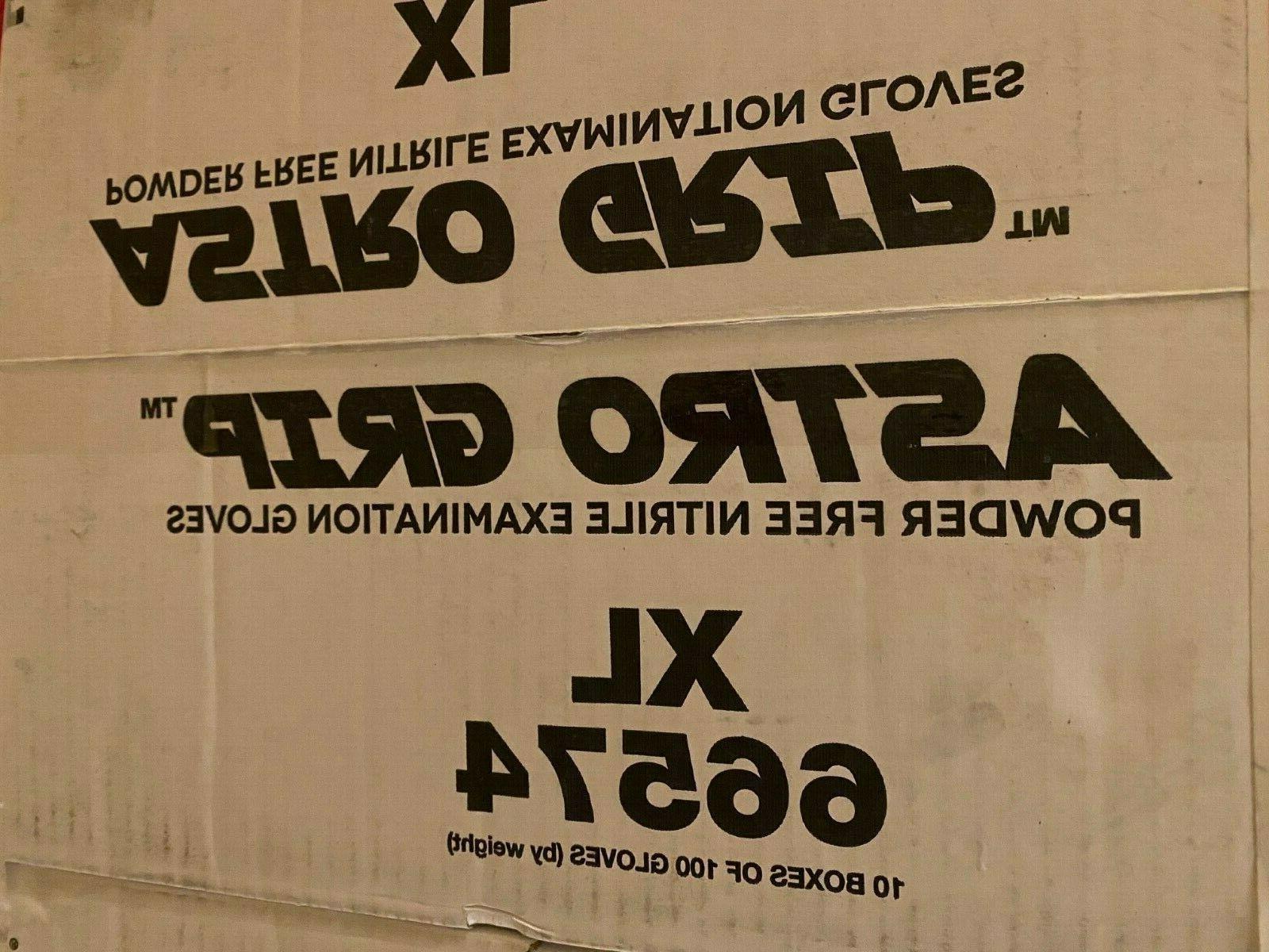 100-1000 Grip 66574 7mil Nitrile Gloves,