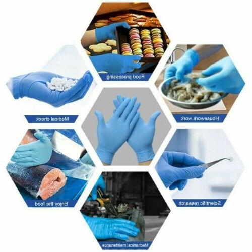 100-200PCS Cooking Nitrile Gloves Washing FREE