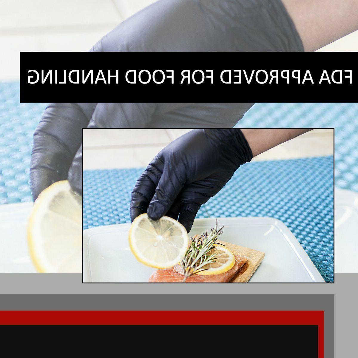 Black Mechanic Food Powder & Latex