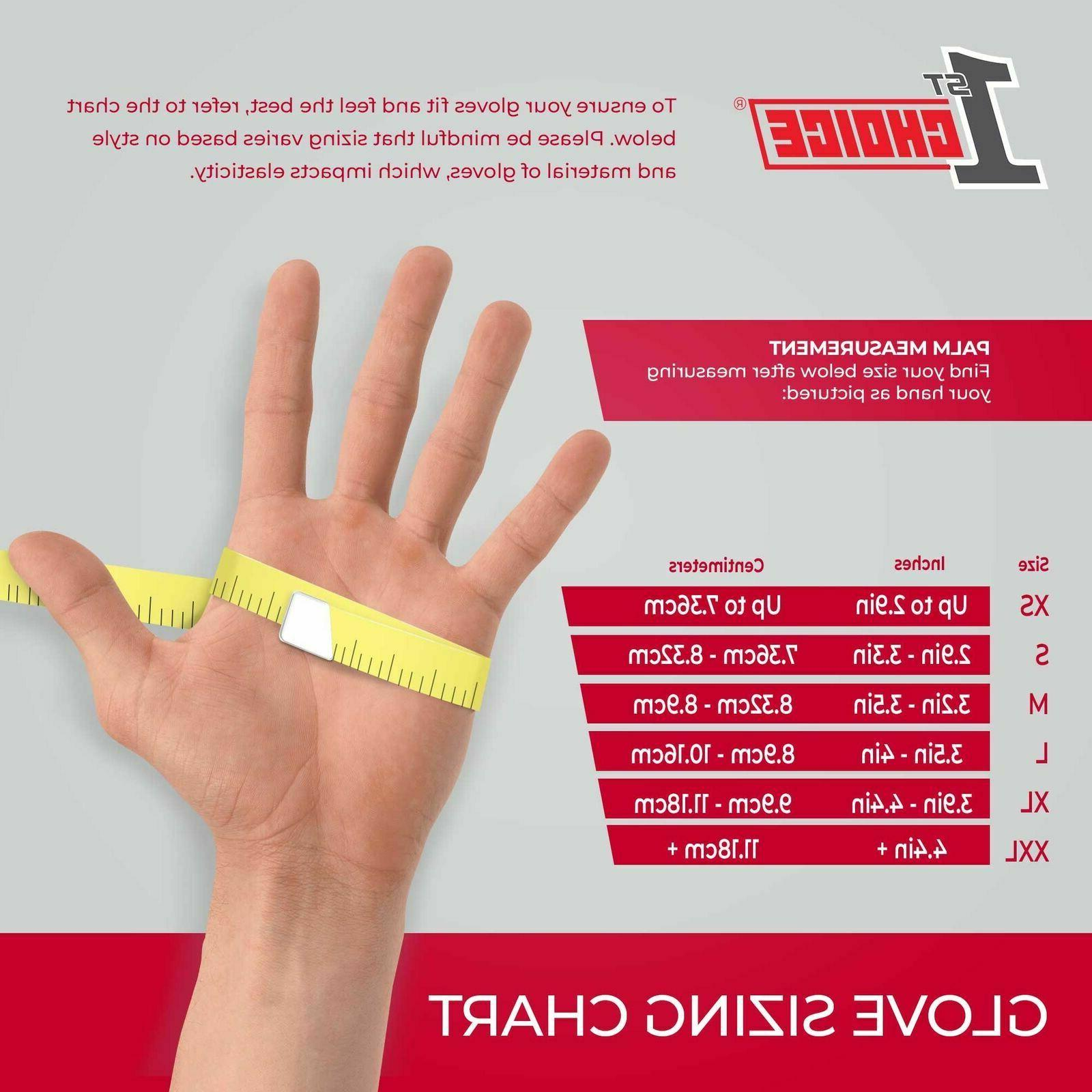 100 1st Nitrile Mil Industrial Gloves