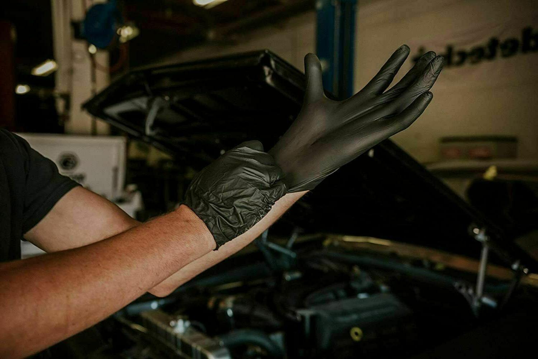 100/box Nitrile Gloves Powder & Latex ExamGrade