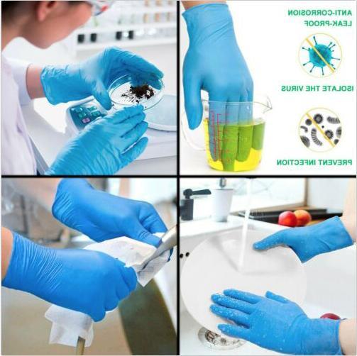 100/box White/Blue/Black / latex Vinyl Gloves FDA