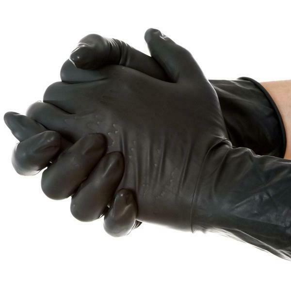 100/box White/Blue/Black Med/Large/XL Gloves Foodservice