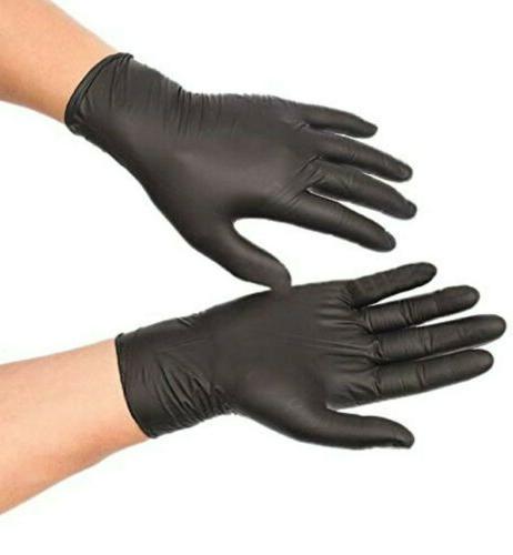 100 ct Powder-Free Nitrile 6 Heavy-Duty Multi-purpose Gloves L