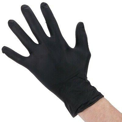100 Powder-Free Nitrile Mil Heavy-Duty Gloves -