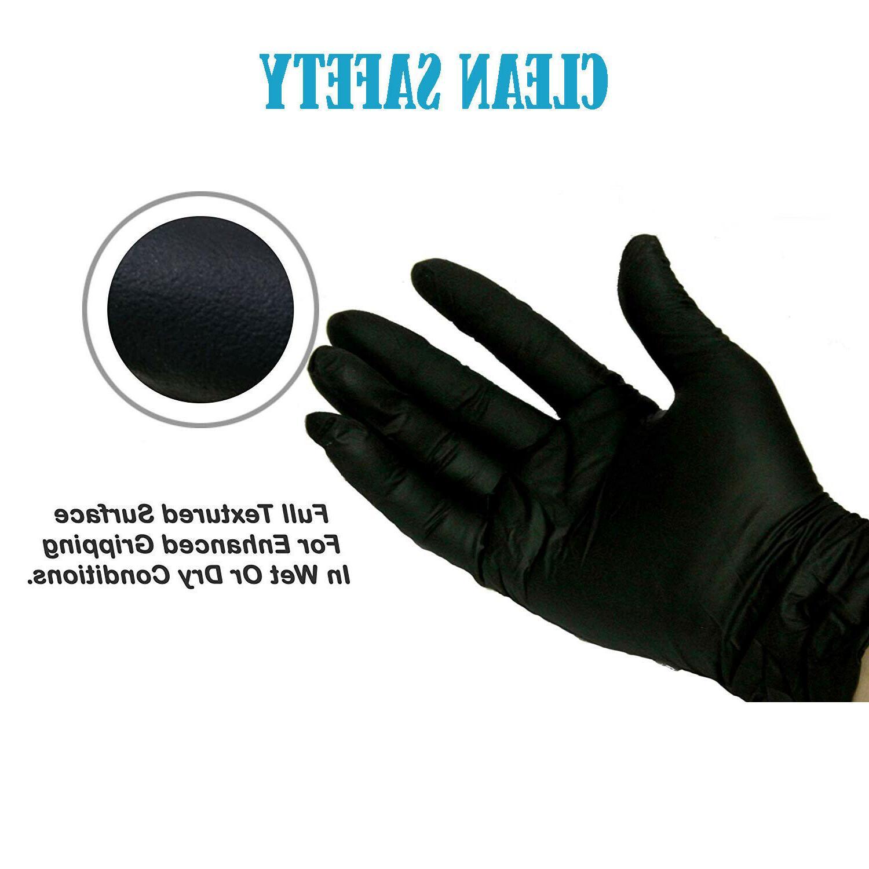 100 Black S L XL Powder Latex Free