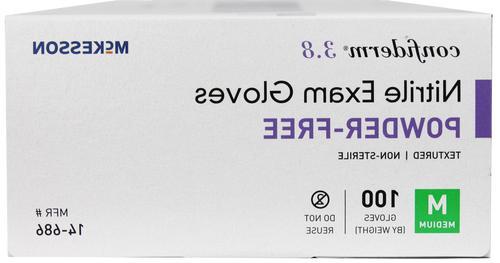 100 McKesson 3.8 Disposable Gloves Medical Grade