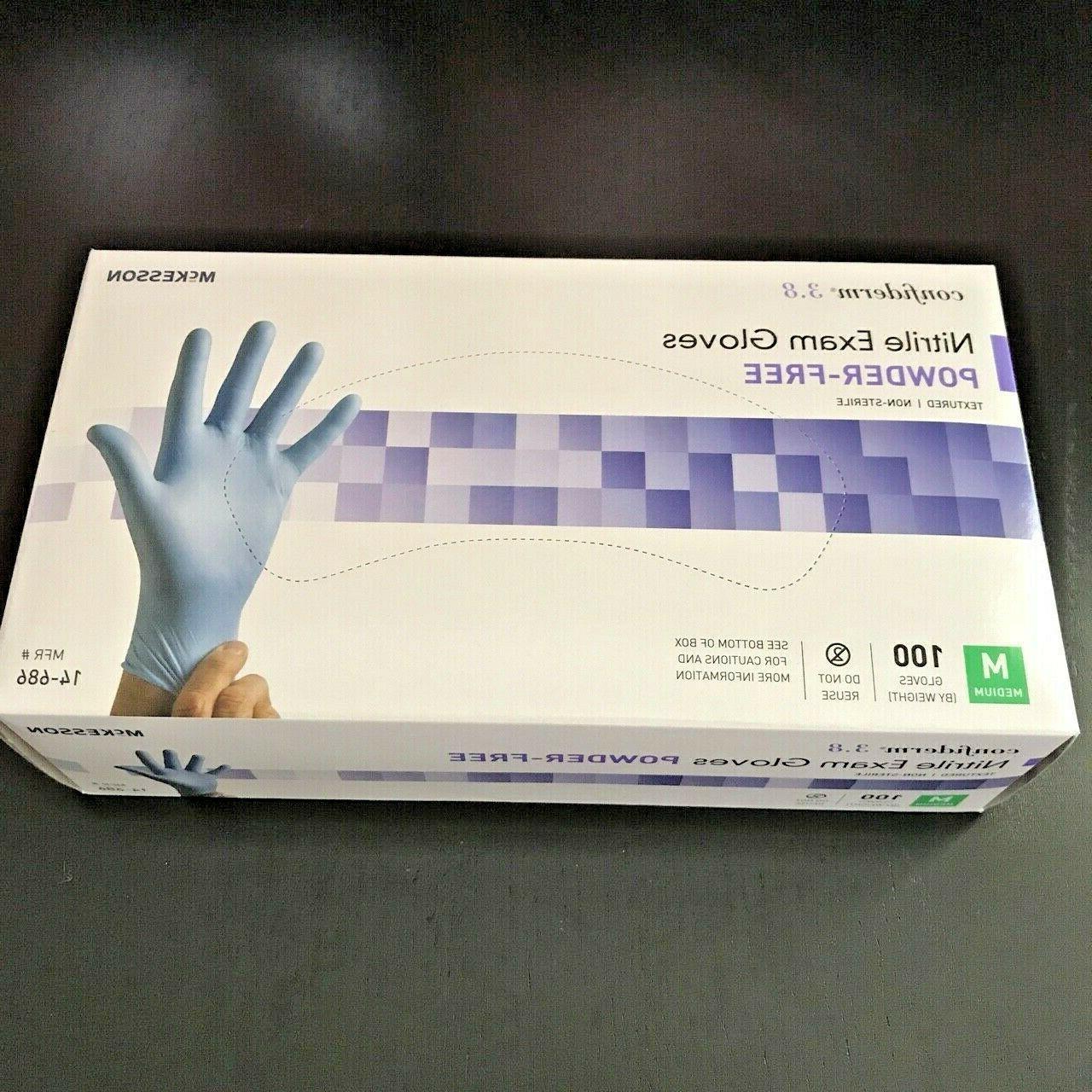 100 medium confiderm 3 8 disposable nitrile