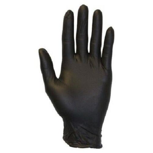 100 Large Size Mil Black Glove