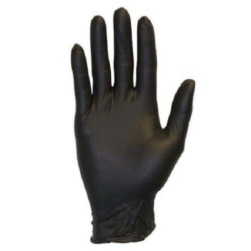 100 Nitrile Disposable Powder Free Large Size Black Glove
