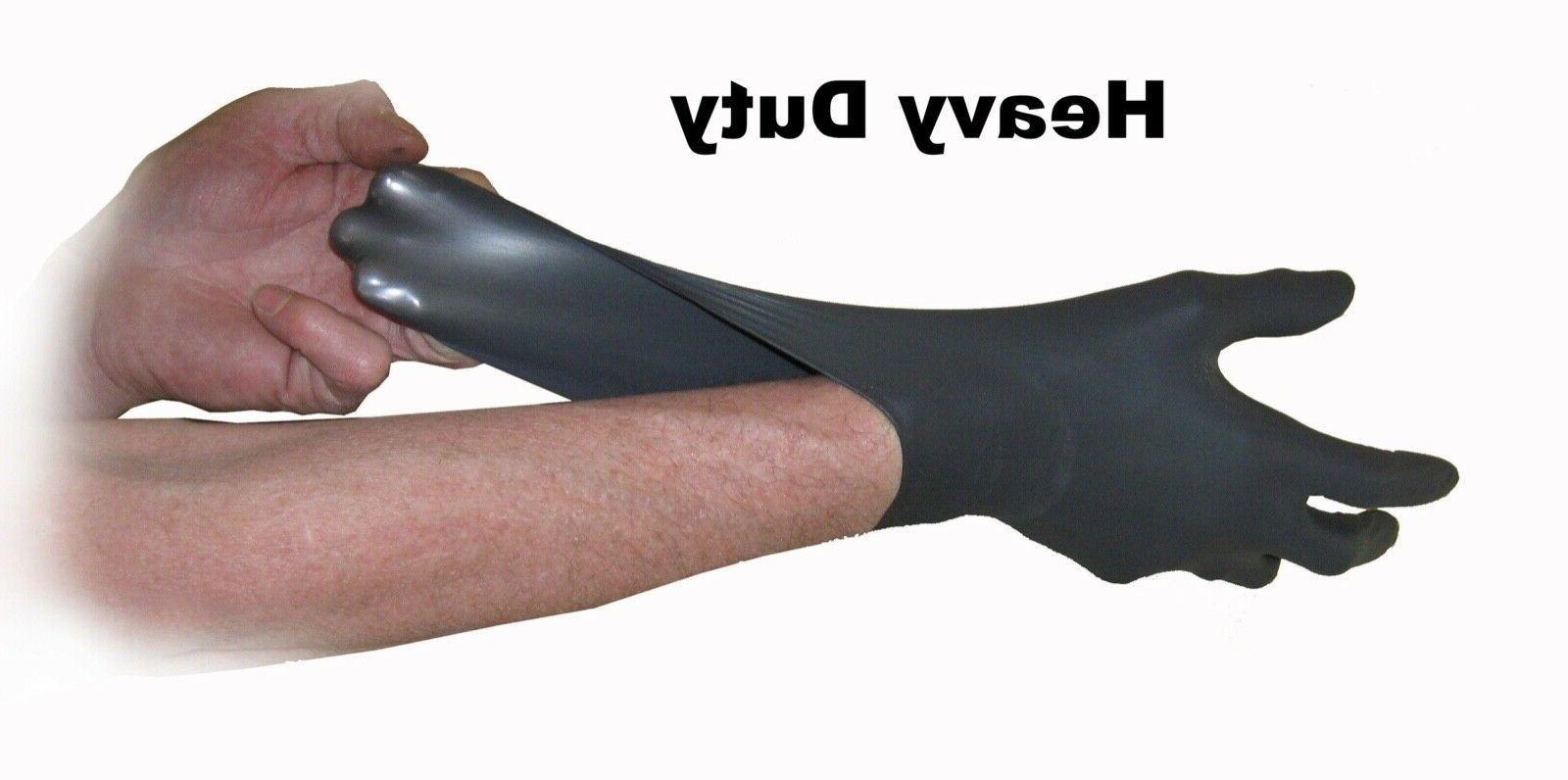 100 PCS AMMEX BX3 Black Nitrile Gloves