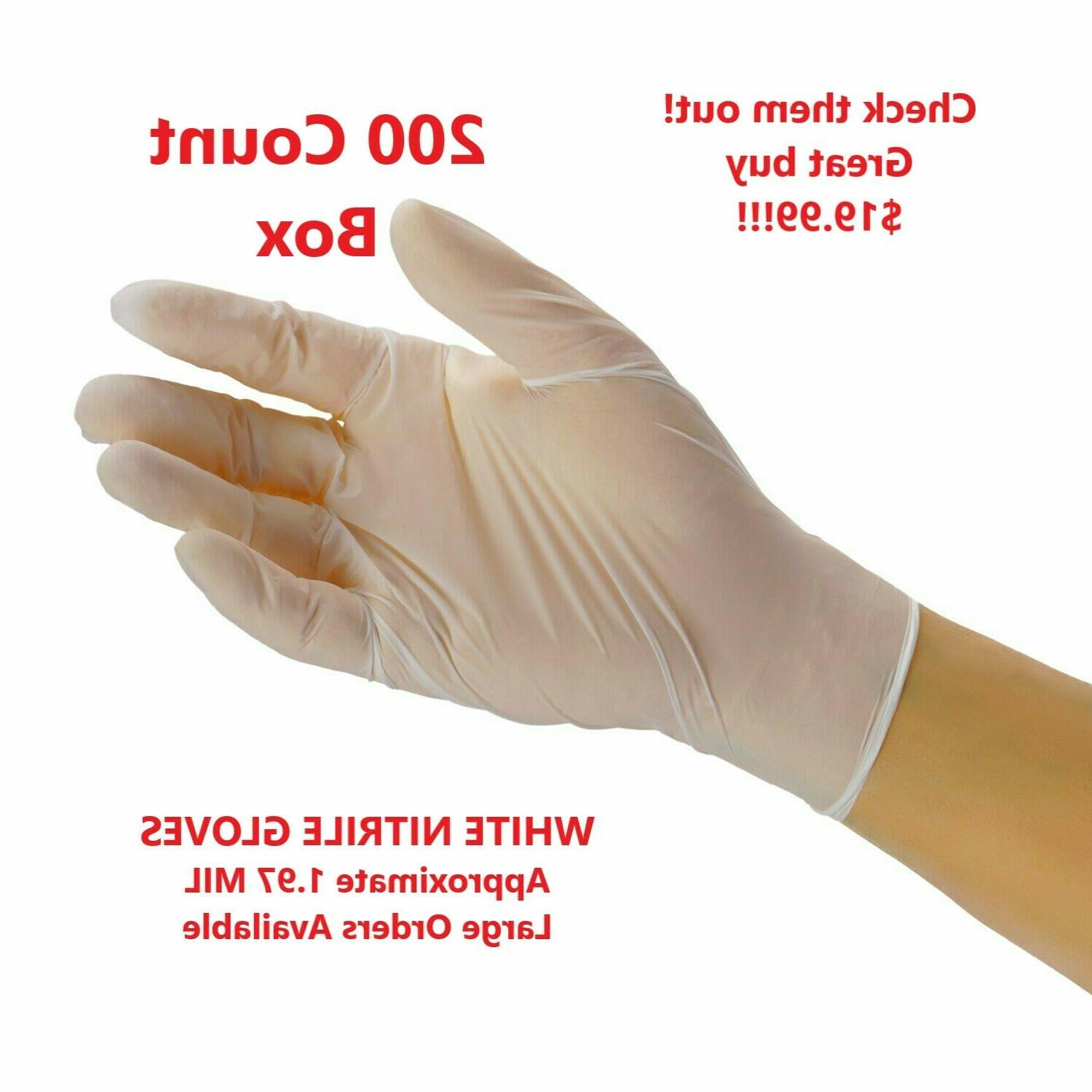 100-piece Gloves, Latex & Powder-Free by Sysco